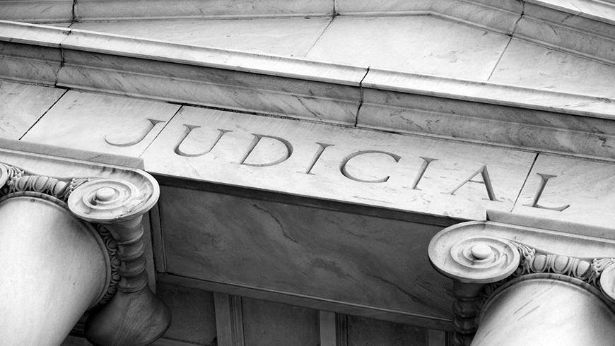 When political strife plays out in the courts