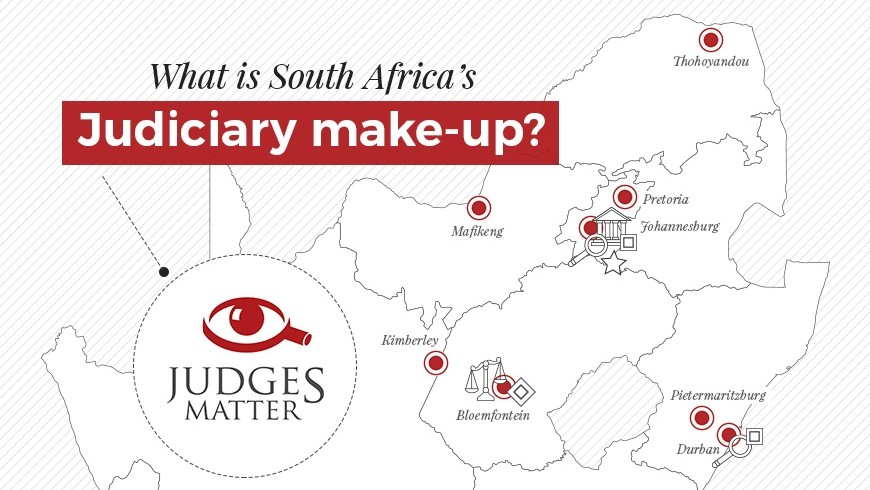 The make-up of South Africa's judiciary