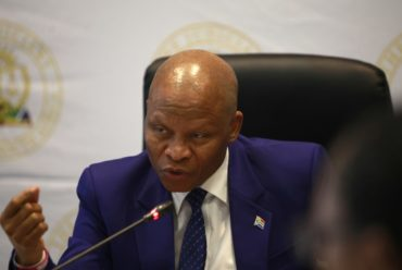 Chief Justice Mogoeng discusses ConCourt vacancies
