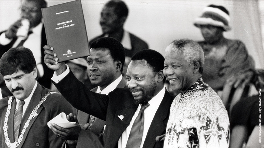 Mandela and the building of a Constitutional Democracy