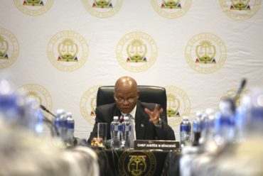 The power Chief Justice Mogoeng has when dealing with errant judges
