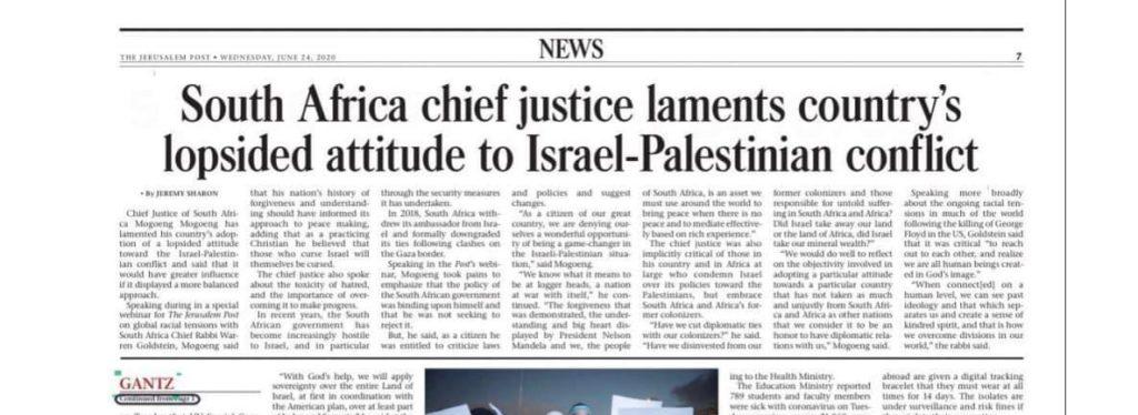 Jerusalem Post Headline Mogeong