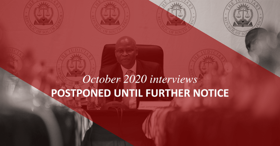JSC October 2020 sitting postponed until 2021