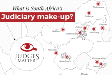 What does South Africa's Judiciary look like?