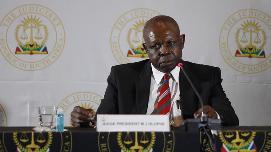 Recap: Hlophe Tribunal December 2020