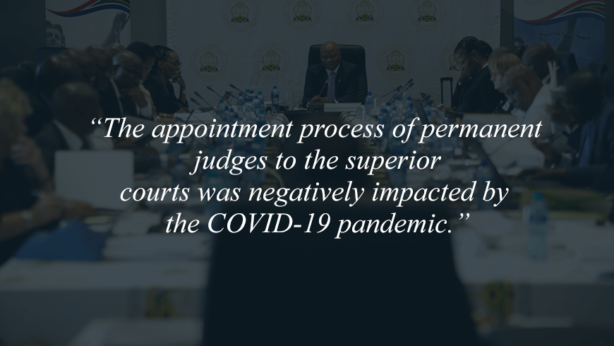 COVID-19's impact on the judiciary