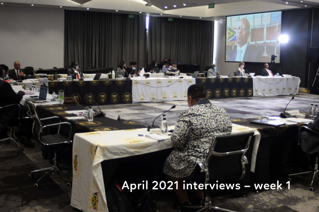 Examining the JSC's controversial April 2021 interviews – week 1