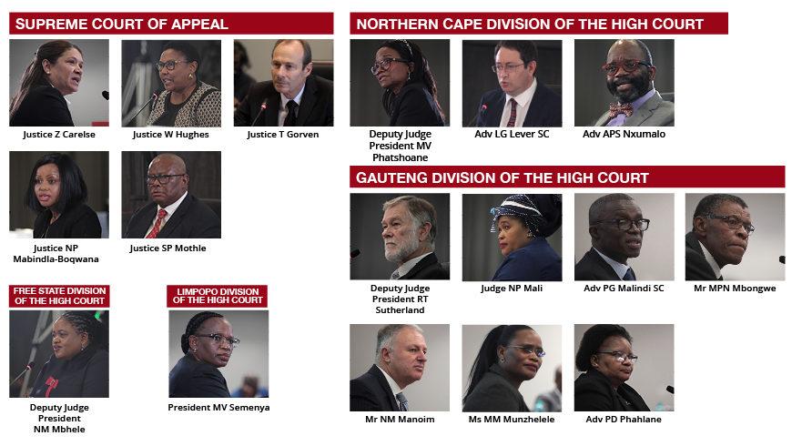 President appoints judges from April 2021 JSC interviews